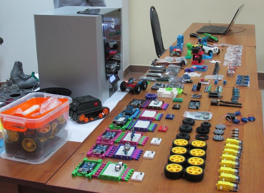 Мастер-класс по 3D-печати и робототехнике